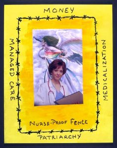 Nurse Proof Fence by Richard Cowling