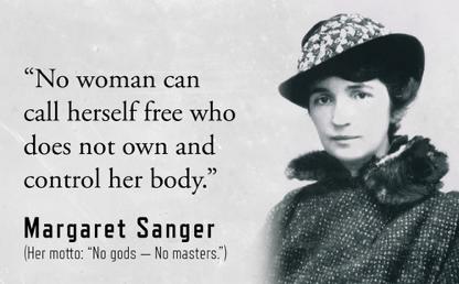 Margaret Sanger (1879-1966) | NurseManifest